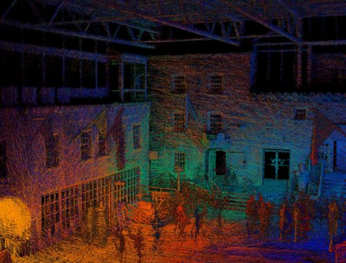 Smarter Spaces 3D Laser Scan of Halifax's Historic Brewery Market.