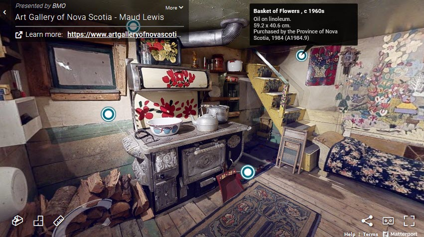 Maude Lews Exhibit Virtual Tour - Art Gallery of Nova Scotia