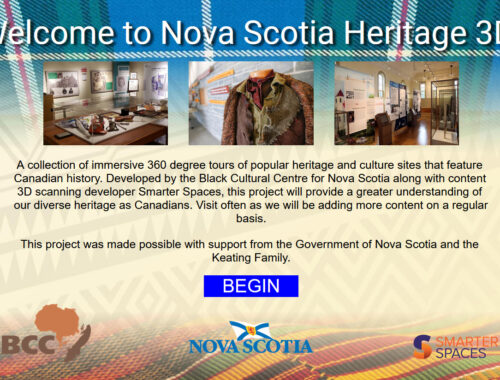 Nova Scotia Heritage 3D - a fully immersive 3D virtual tour of popular heritage and culture sites that feature Canadian history, providing a greater understanding of our diverse heritage as Canadians.