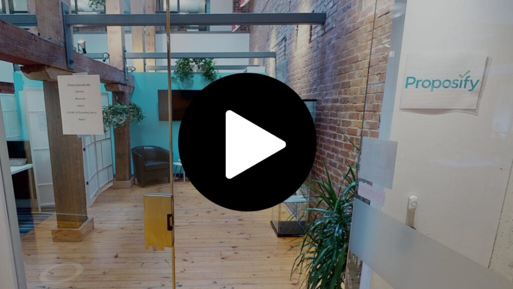 Virtual tour of Commercial Office Space for lease